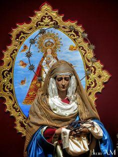 La santísima Amargura esperando a la santísima virgen de Gador
