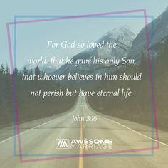 Our God is the perfect example of true love!
