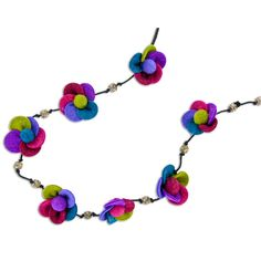 #felt #necklace Felt Necklace Fair Trade