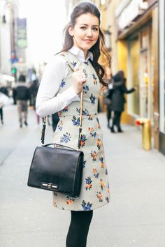 #fashion #outfit #style #floral #dress