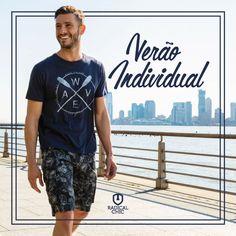 Visual despojado e casual para curtir o dia cheio de estilo e com muito conforto! #RadicalChic #Verão #Individual #Homem #Moda #TodaHoraÉHora #Ipatinga #ValeDoAço #MinasGerais #IndividualSummer17