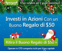Ritira il tuo Buono di 50$! senza deposito http://world-forex-directory.blogspot.it/2013/12/etoro.html