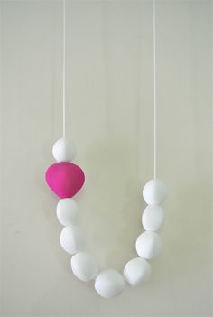 Silicone Teething Necklace - Sweetheart Necklace
