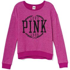 pink victoria secret clothing | Victoria's Secret PINK Crew ($40)