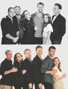 Aww. Promo photos from the first Thor film. :)