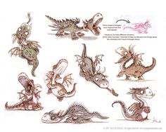 Little_dragons_by_imaginism || CHARACTER DESIGN REFERENCES | Find more at https://www.facebook.com/CharacterDesignReferences if you're looking for: #art #character #design #model #sheet #illustration #best #concept #animation #drawing #archive #library #reference #anatomy #traditional #draw #development #artist #how #to #tutorial #conceptart #modelsheet #dragon #dragons