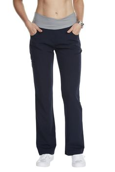 "The ""Cross My Hip"" scrub slack is a stylish pant that blurs the lines between work wear and performance wear. Structured to keep up with your physically demanding if"