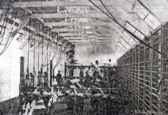 L'hôpital militaire de Bonsecours. Cours de gymnastique pédagogique. WWI.
