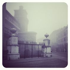 Welcome to Silent Hill #ferrara #italy #morning #fog - Instagram by @nicola_squali