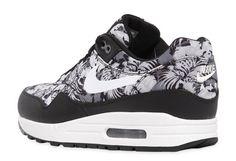 Nike Air Max 1 GPX Tropical: | Black, White, and Floral print