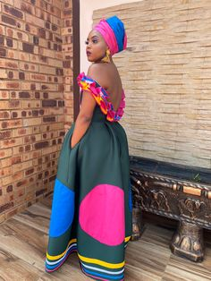 Sepedi Traditional Dresses, African Traditional Wear, African Traditional Wedding Dress, Traditional Weddings, Best African Dresses, African Wear, African Fashion, African Children, African Design