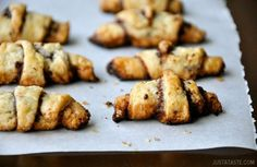 A chocolatey RUGELACH   25 Classic Jewish Foods Everyone Should Learn To Cook