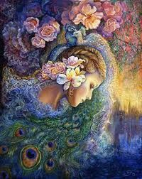 Peacock fantasy art.
