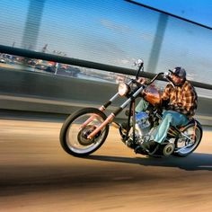 Jesse James copper bike.