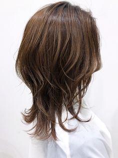 Medium Hair Cuts, Medium Hair Styles, Short Hair Styles, Long Shag Haircut, My Hairstyle, Cut My Hair, Hair Inspo, Bob Hairstyles, Hair Goals