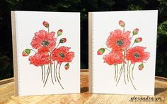art scrap & more: alexandra's Sunday scrapbooking - Tips to Watercolor a Stamped Image