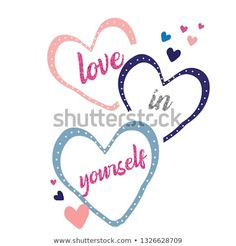 Love Yourself Slogan T Shirt Print Stock Illustration 1326628709 Discover this and millions of other royalty-free stock photos, illustrations, and vectors in the Shutterstock collection. Thousands of new, high-quality images added every day. Slogan Tshirt, T Shirt Diy, Images Noêl Vintages, Disney Quilt, Winter Shirts, Shirt Print Design, Design Girl, Disney Diy, Kids Prints