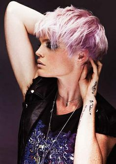 Thinking of getting your hair cut shorter than short? Then check out these edgy hairstyles for instant short hair inspiration. From wild girl bobs to pixie. Funky Hairstyles, Little Girl Hairstyles, Straight Hairstyles, Asian Hairstyles, Hairstyle Short, Blonde Hairstyles, Pixie Haircuts, Vintage Hairstyles, Hairstyle Ideas