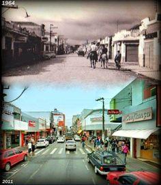 Redescobrindo o Alto Tietê: Antes e depois - Rua Francisco Glicério em Suzano