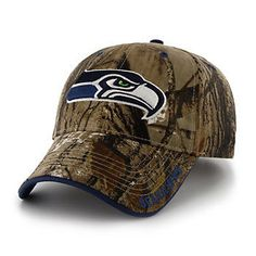 9ff0f0980fd  47 Brand Seattle Seahawks Frost Realtree Camouflage Adjustable Cap - Adult  Seattle Seahawks Hat