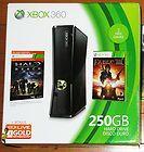 NEW Lot Xbox 360 250GB Holiday Value Bundle +  Halo 3