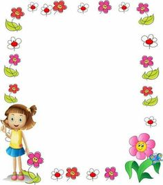 Boarders And Frames, Kids Background, Cute Borders, School Frame, Shapes For Kids, Borders For Paper, Paper Frames, Writing Paper, Border Design