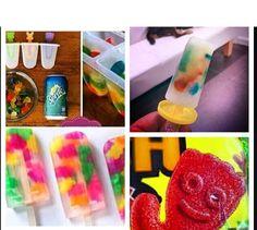 Gummy bear Popsicles