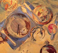 """""""Sobremesa marina"""" 080 x 080 Oleo sobre tela"""