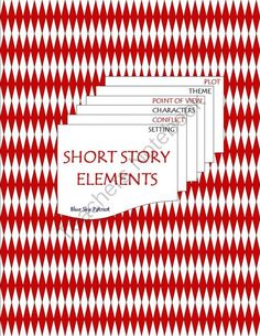 Short Story Elements from BlueSkyPatriot on TeachersNotebook.com -  (2 pages)  - 2-page Resource includes a graphic organizer for students to complete with either definitions of each element in their own words or for students to complete after reading a short story.