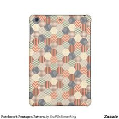 Patchwork Pentagon Pattern iPad Mini Retina Cases