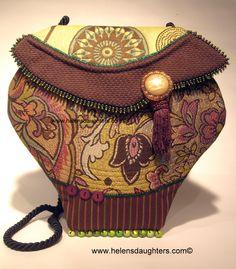 Cool Boo Challenge - Make - A - Handbag - A - Day.  www.facebook.com/helensdaughtershandbags
