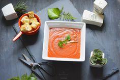 Aceasta supa crema de rosii este exact ce spune si titlul – aroma verii in farfurie! #supacrema #vara #rosii