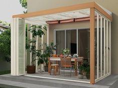 居心地のいいサンルームをつくるための9つのポイント [テラス・バルコニー・ベランダ] All About Glass House, Diy And Crafts, Pergola, Outdoor Structures, Interior, Garden, Architecture, Laundry, Greenhouses