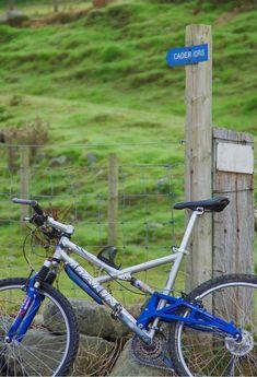 North Wales Cader Idris mountain biking