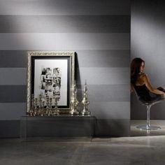 Palatino Silver Grey Wallpaper