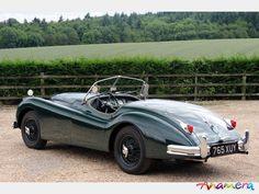 1955 Jaguar XK140 OTS Roadster SE