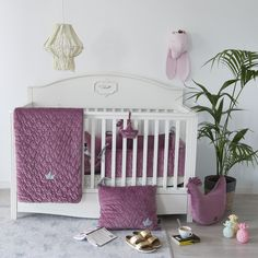 Girl Room, Baby Room, Nursery Ideas, Cribs, Bed, Modern, Furniture, Home Decor, Cots