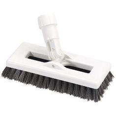 Carlisle Sanitary Maintenance Products Swivel Scrub with Polyester Bristles Color: Black