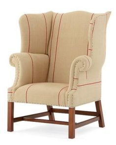 Hudson River Valley Wing Chair by Ralph Lauren  ralphlaurenhome.com