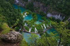 Plitvice Lakes National Park, Croatia #Grottos #Forrest #cliffs #SouthernEurope #NationalPark #waterfalls