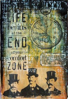 """""""Life begins at the end of your comfort zone"""" (Sunday Sentiments #3)"""