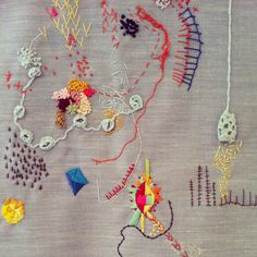 lyndsey mcdougall embroidery   ~m