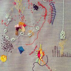 lyndsey mcdougall embroidery - Buscar con Google