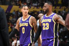 "July 21, 2020 1:16 pm July 21, 2020 1:16 pm LeBron James on Kyle Kuzma saying, ""I think Jesus could be in front of me and I'd probably still shoot""' Source : www.talkbasket.net Read Full Article Read Full Article Nba Trade Rumors, Kyle Kuzma, Nba Scores, Nba News, Dallas Mavericks, Lebron James, Espn, All Star, Male Style"