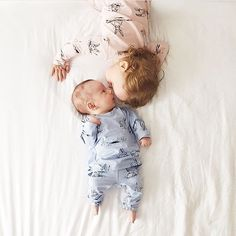So much love in this little square.  All styles that have almost sold out are listed in our 'last chance' section online  Beautiful little moment by @quinn.and.theo  #organiccotton #madelocal #madeinaustralia #gdotnancy #gnancypjs