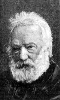 Victor Hugo, author of Les Miserables