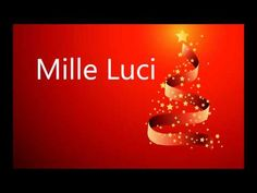 Mille Luci | Canzoni Di Natale - YouTube Canti, Xmas, Christmas Ornaments, Youtube, Songs, Video, Pace, Winter Time, Christmas Music