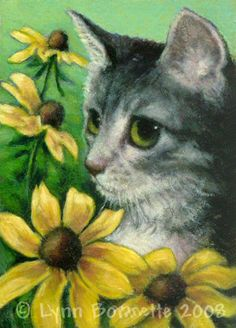 """Black-Eyed Susan"" par Lynn Bonnette"