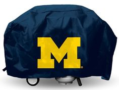 Michigan Wolverines Grill Cover Deluxe