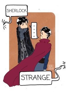 Doctor Strange || Sherlock - part 1